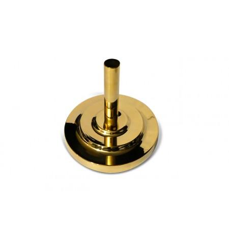 Floor Base metalic in gold