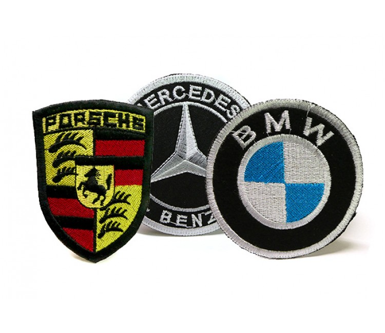 Car Logos embroidered patches (5)