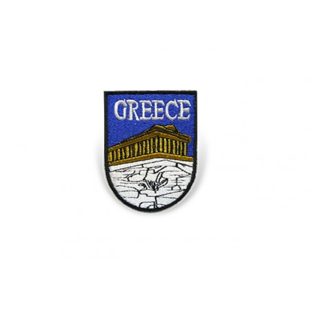 Patch Greece Shield 7.5cm*5cm