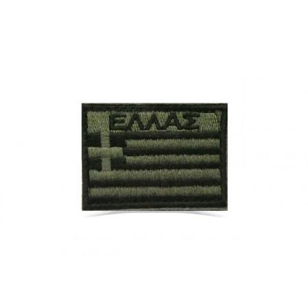 Patch Ellas Military 6cm*4.5cm velcro