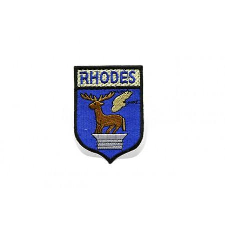 Patch Rhodes Shield 7.5cm*5cm