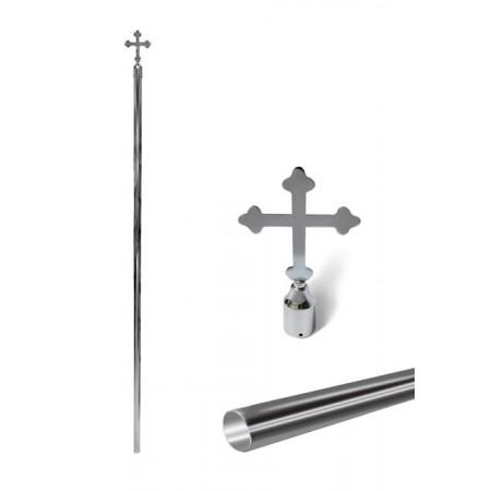Inox Pole with Cross