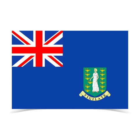 Flag of UK Virgin Islands