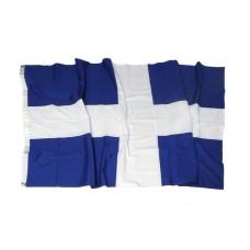 Greek flag Cotton 150gr Cross sewn