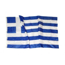 Greek flag Polyester net 110gr sewn