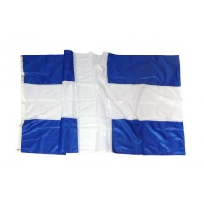 Greek flag Polyester 110gr Cross