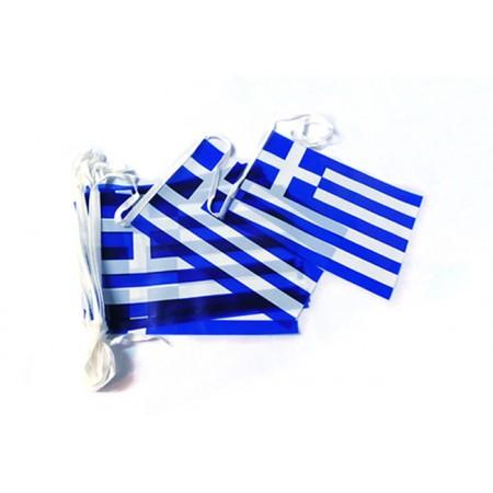 Plastic Greek Garland