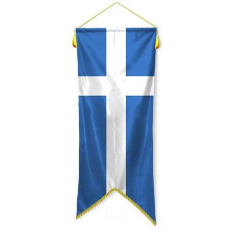 Large banner Greek sewn