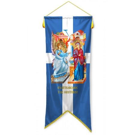 Large banner Evangelism of Theotokos