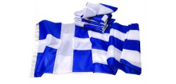 Greek flags sewn
