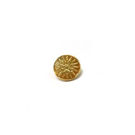 Gold Pin Vergina Sun
