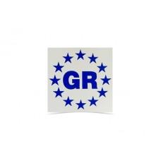 Sticker GR square 5.5cm*5.5cm