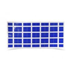 Stickers Hellas Cross 4.5cm*3cm on a sheet of 28cm*14cm