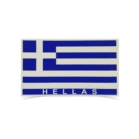 Sticker Hellas 11.5cm*7cm