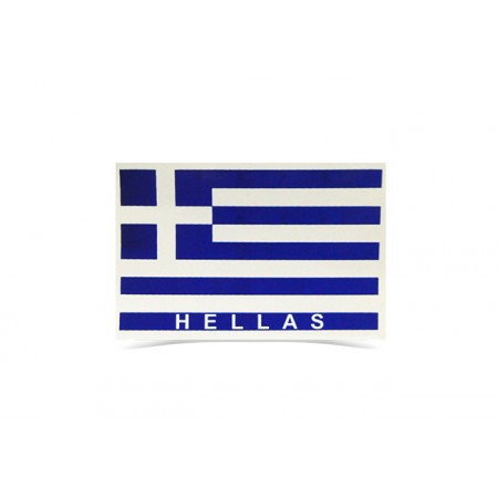 Sticker Hellas 8cm*5.5cm