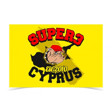 Super3 Cyprus Flag