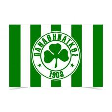 Panathinaikos FC stripped Flag